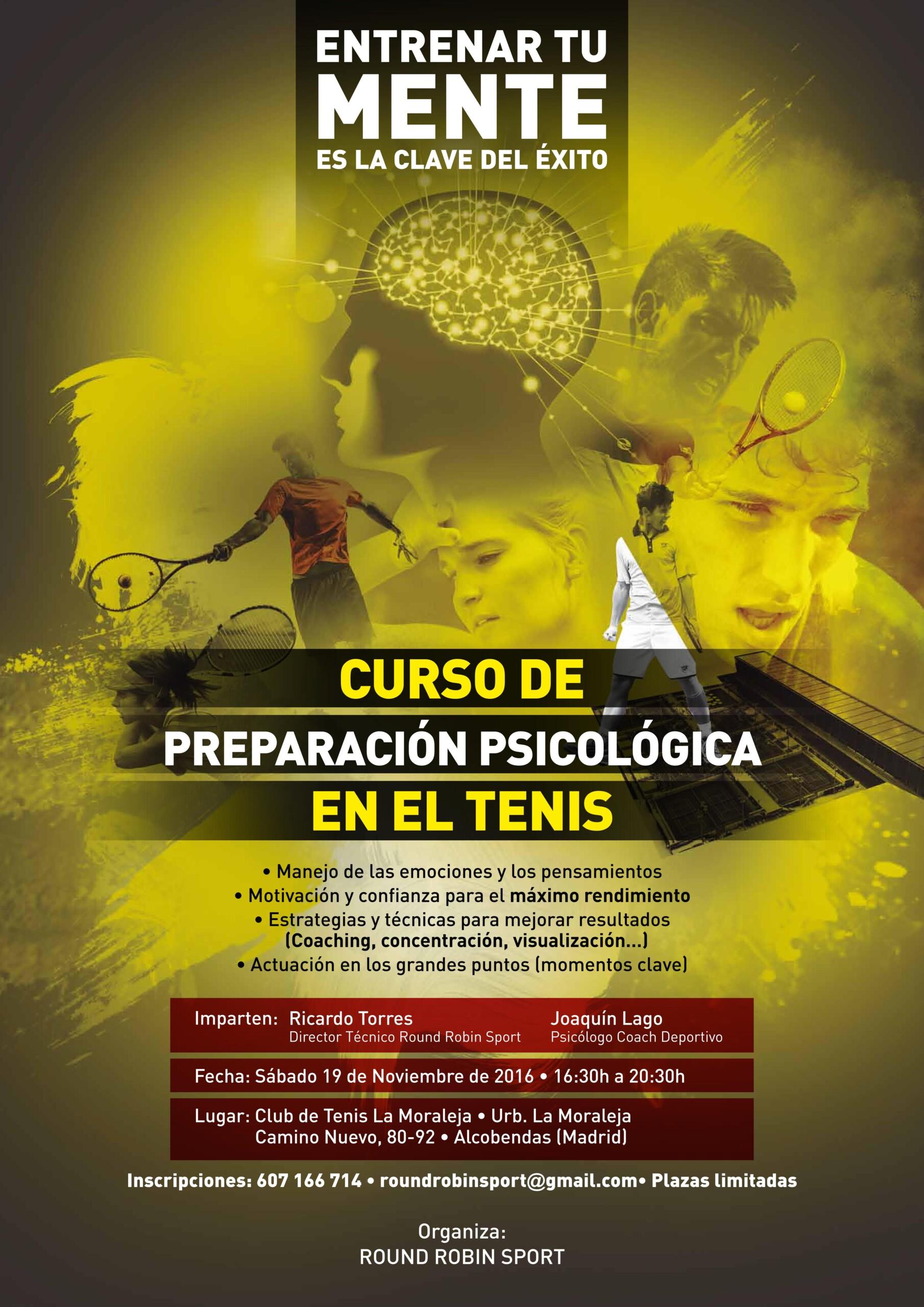 Round Robin sports Entrenamiento mental | Borja Echevarria