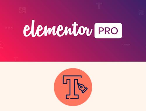 Como añadir fuentes o tipografías a Elementor