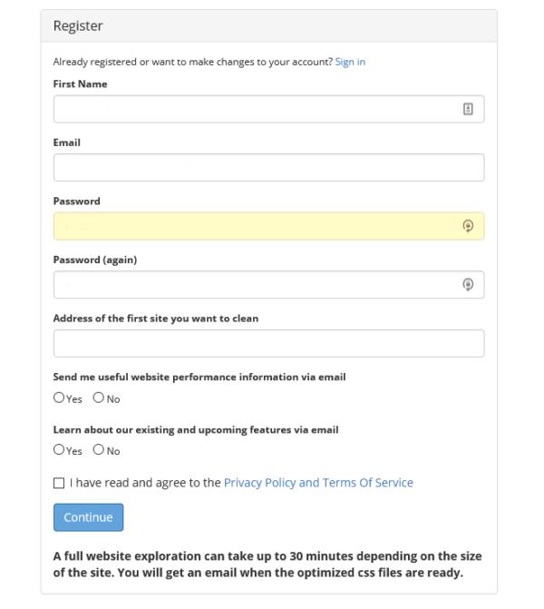 Cómo optimizar el CSS y JS de tu página web